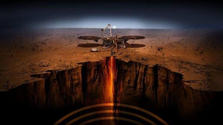 На Марсе обнаружили залежи ракетного топлива