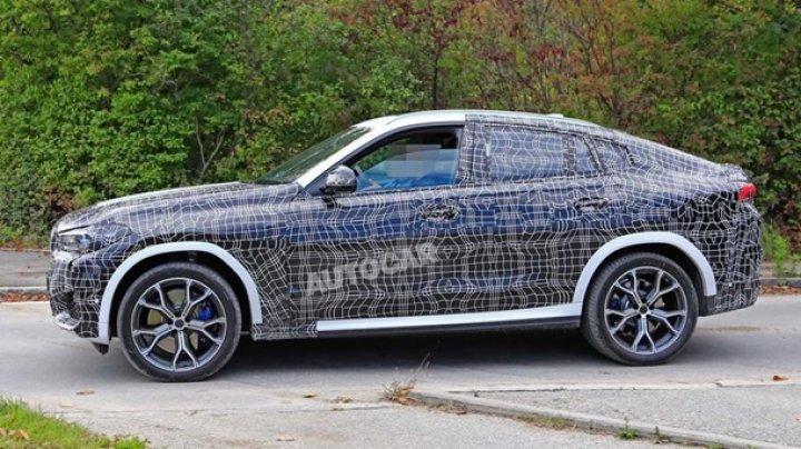 BMW протестировала спортивный кроссовер X6 M