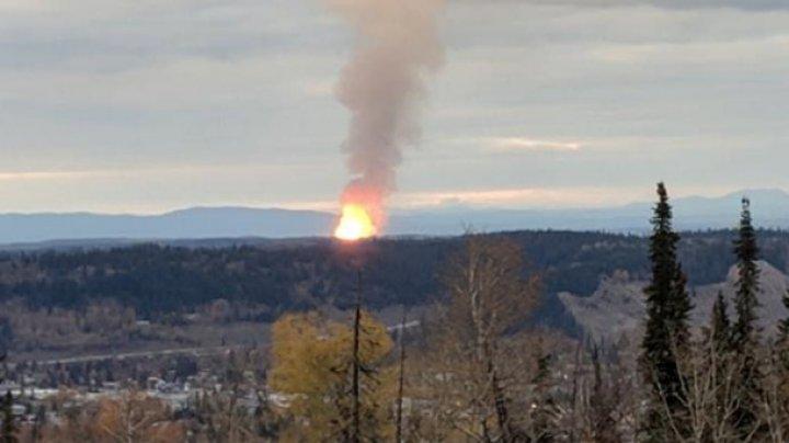 В Канаде взорвался газопровод