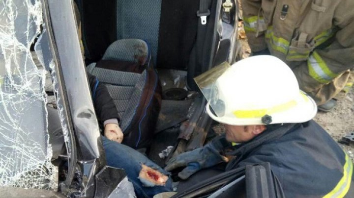В Одесской области столкнулись пять автомобилей