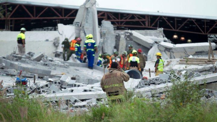 В Мексике при обрушении торгового центра погибло не менее семи человек