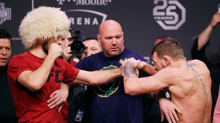 MMA временно дисквалифицировала Нурмагомедова и Макгрегора