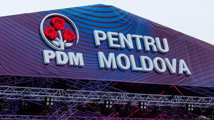 Национальное собрание ДПМ - За Молдову: масштабность события на фото с дрона