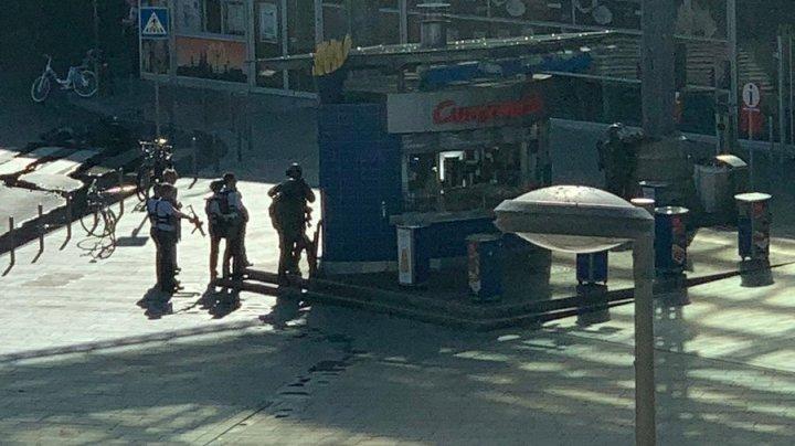 Неизвестный захватил заложника на вокзале в Кёльне