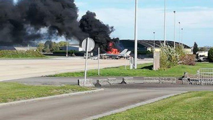 На военной авиабазе в Бельгии произошёл взрыв, есть раненые