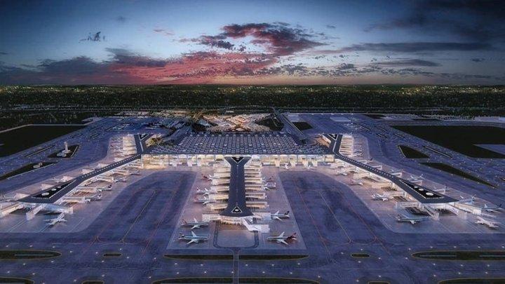 Первый рейсовый самолет вылетел из нового аэропорта Стамбула