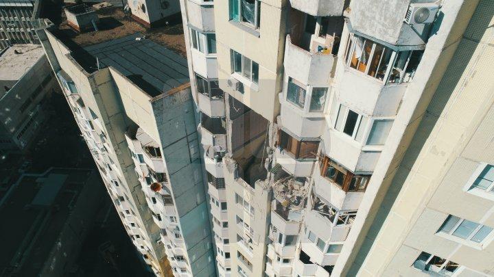 В многоэтажке на Московском проспекте начали демонтаж перекрытий