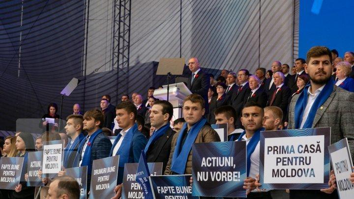 Павел Филип: ДПМ доказала, что Молдова может открыть свой путь к процветанию
