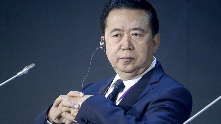 Глава Интерпола находится под следствием в Китае