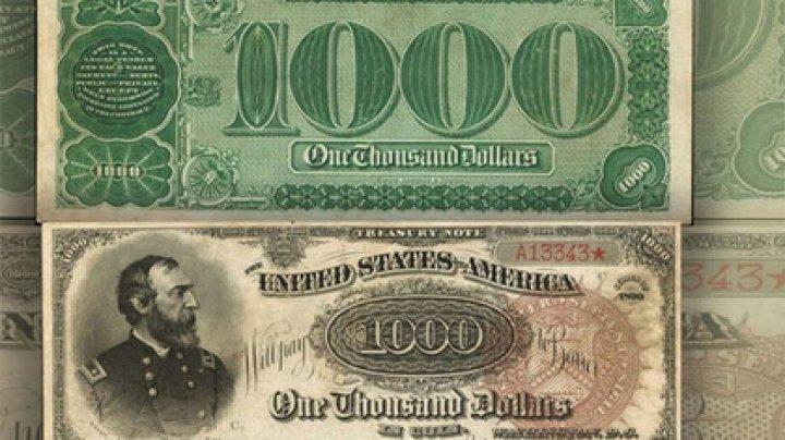 Банкноту в тысячу долларов продали за два миллиона