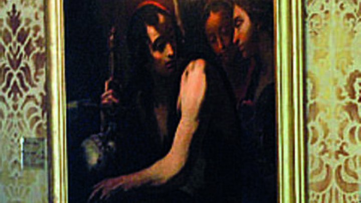 Птица испортила пометом картину художника XVII века