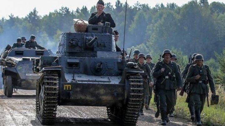 Каскадера раздавило танком на съемках фильма о «крепком русском духе»