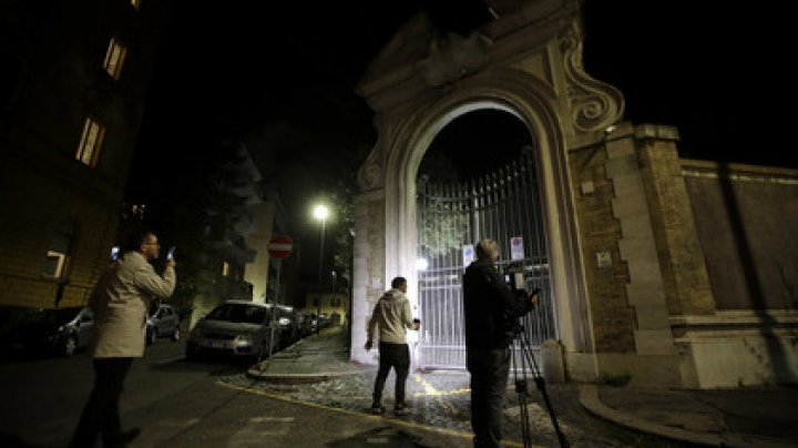 В посольстве Ватикана в Риме нашли человеческие останки