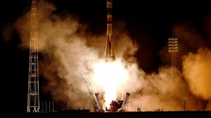 """Космический корабль """"Союз"""" не вышел на орбиту из-за аварии на старте"""