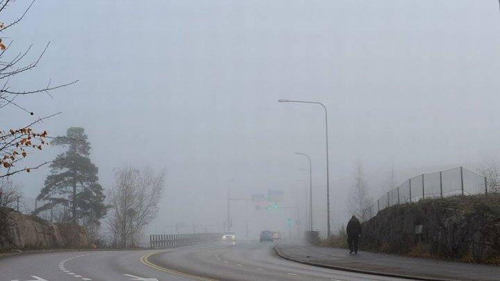 В Финляндии люди перепутали туман с дымом и вызвали пожарных