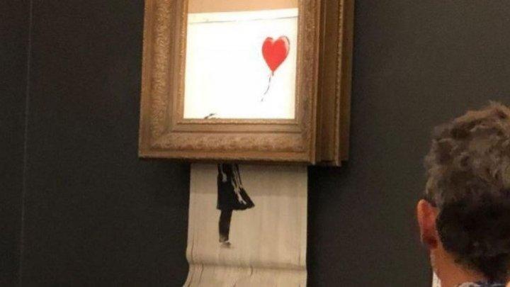 Покупатель изрезанной картины Бэнкси решил оставить сделку в силе