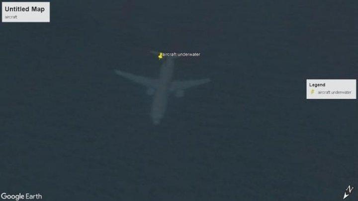 "Спутник Google-карт снял ""затонувший"" самолёт, о котором никто не знал"