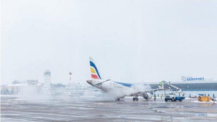 В кишиневском аэропорту отметили несколько рейсов из-за непогоды