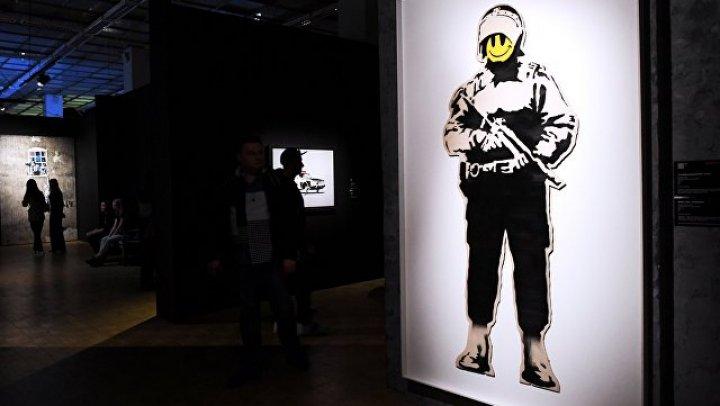 В Брюсселе арестовали выставку Бэнкси
