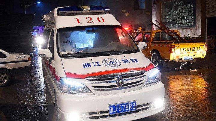 В Китае семь человек погибли в результате ДТП