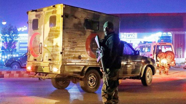 В Кабуле произошел взрыв и началась стрельба