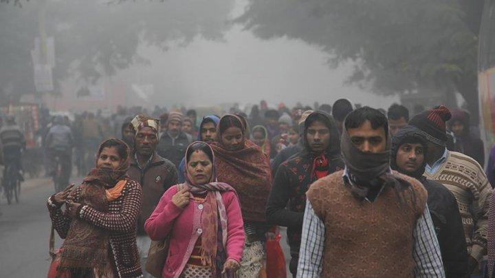Загрязнение воздуха в Нью-Дели достигло наивысших значений