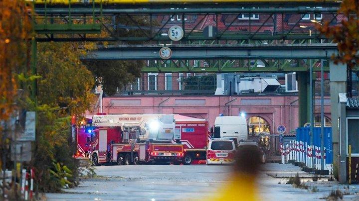 Утечка паров соляной кислоты произошла во Франкфурте-на-Майне