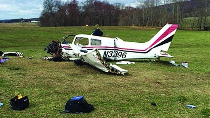 В США разбился легкомоторный самолет: есть жертвы