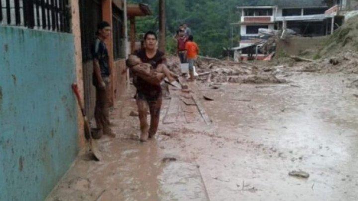 В результате оползня в Эквадоре погибли девять человек