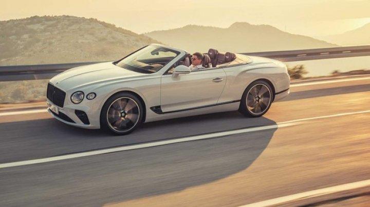 Bentley представила кабриолет Continental GT