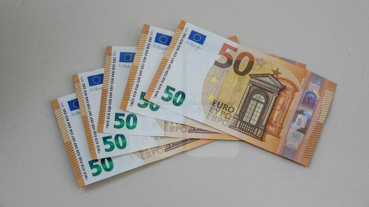 В валютной кассе Комрата по ошибке выдали 5 тысяч евро вместо 5 тысяч российских рублей
