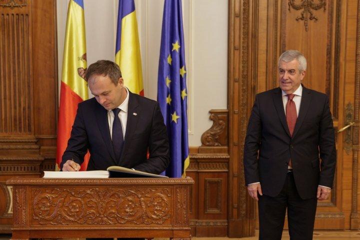 Андриан Канду получил высшую награду Палаты депутатов Румынии