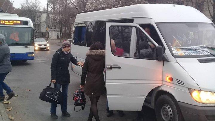 ДТП с участием маршрутки и троллейбуса произошло в столице