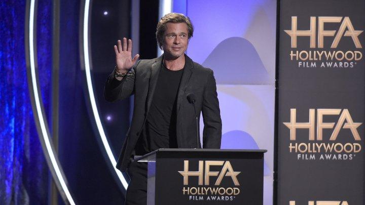 Брэд Питт впервые за долгое время появился на публике после развода с Джоли