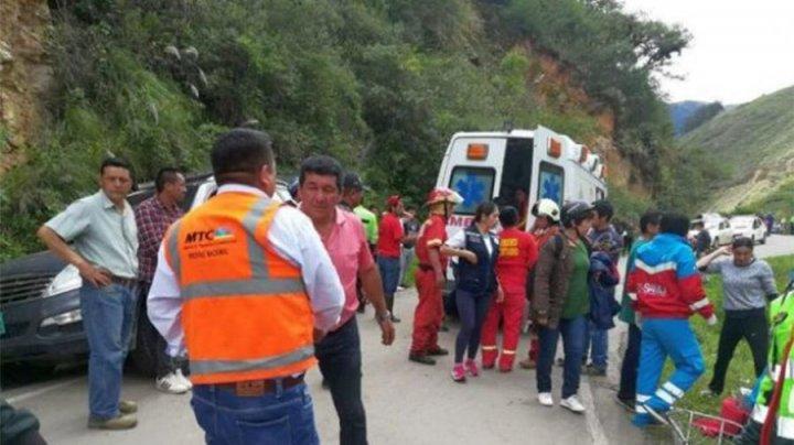 Шесть юных футболистов погибли в Перу при падении автобуса в пропасть
