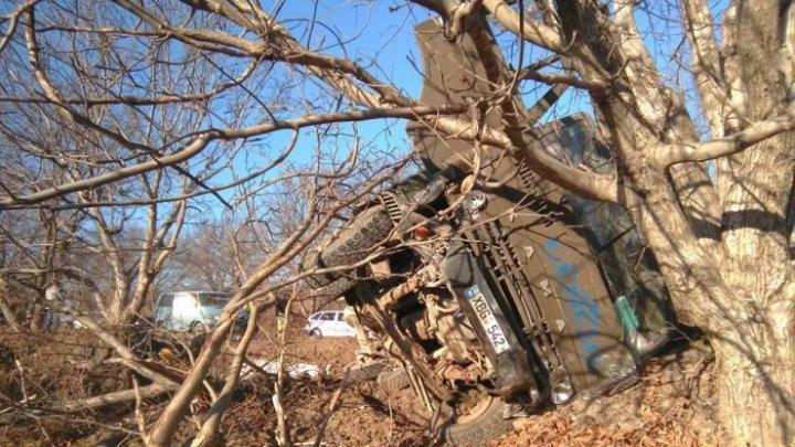 Авария с участием трех машин произошла на трассе Кишинев-Калараш