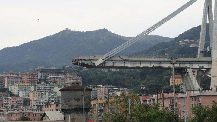 В Генуе спущен первый пролет обрушившегося летом моста