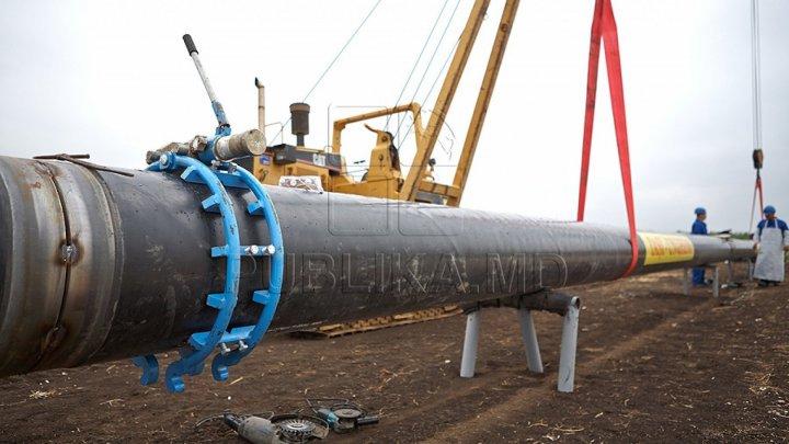 Дан старт строительству газопровода Унгены-Кишинев