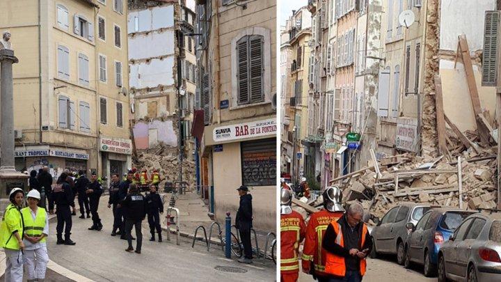 В центре Марселя обрушился жилой дом