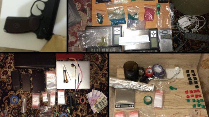 Полиция Кишинева обнаружила наркотики на полмиллиона леев