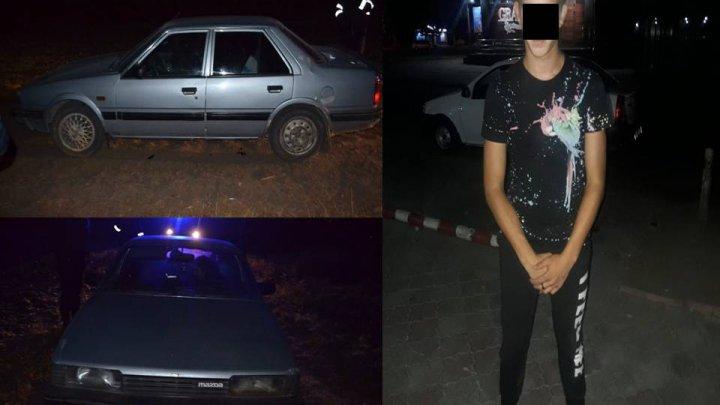 Полиция задержала подростка угнавшего автомобиль на Малой Малине