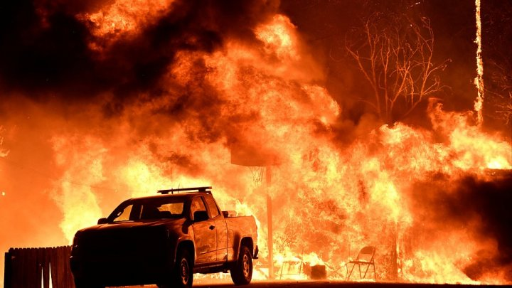Лесной пожар в Калифорнии локализован на 95%