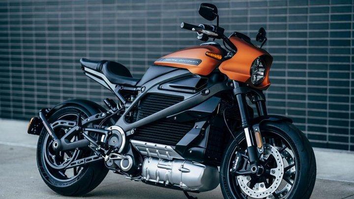 В Европе представят электрический мотоцикл Harley-Davidson
