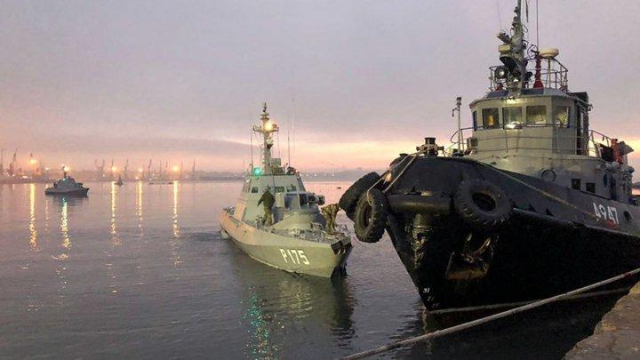 НАТО призывают Россию освободить украинских моряков и корабли, захваченные в Чёрном море