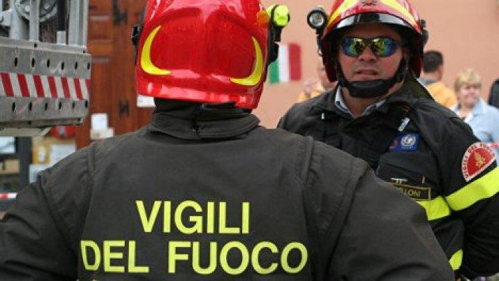 В Риме загорелся завод по переработке отходов