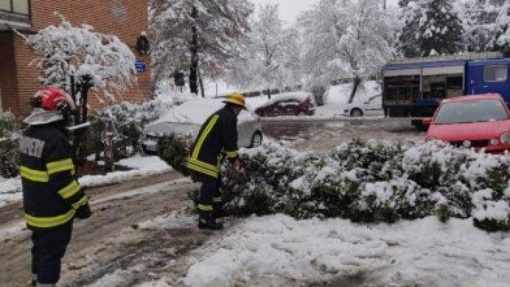Из-за снегопадов в Румынии произошло рекордное количество ДТП