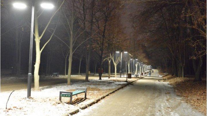 """В парке """"Долина роз"""" установлено освещение"""