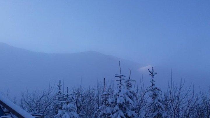 В Карпатах выпало более метра снега