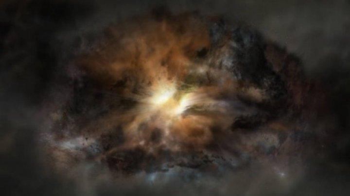 В космосе найдена аномалия времен Большого взрыва