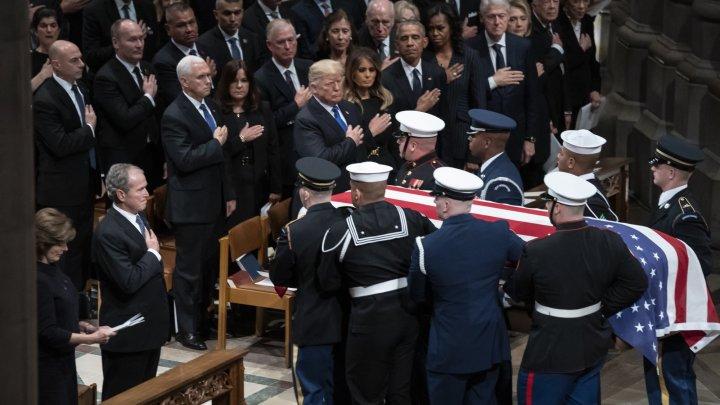 В Вашингтоне попрощались с Джорджем Бушем-старшим